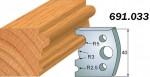 Комплекты фигурных ножей CMT серии 690/691 #033