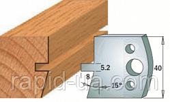 Комплекты фигурных ножей CMT серии 690/691 #086