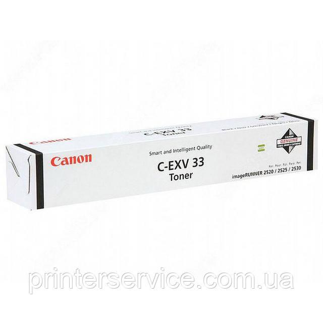 Картридж Canon C-EXV33 Black для iR 2520/2525/2530 (2785B002)