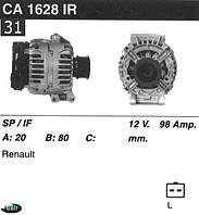 Генератор Renault / Nissan 98 Amp.CA1628IR