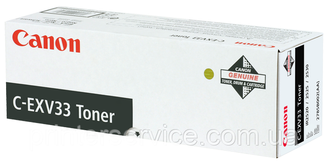 Тонер Canon C-EXV33 Black (2785B002) для iR 2520/2525/2530
