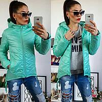 Куртка-парка женская, модель  210, мятный 48