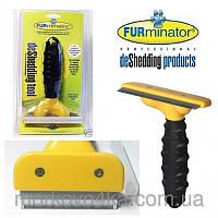 Щетка чесалка для расчесывания животных 6,8 см Furminator DeShedding Tool Brush, фурминатор для груминга собак
