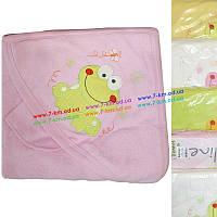 Полотенце для купания Len103 махра 1 шт (90х90 см)