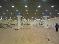 Установка подвесного потолка Грильято, фото 1