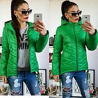 Куртка-парка женская, модель  210, трава, фото 1