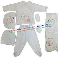 Костюм для малышей Len4114 коттон 1 шт (1-3 мес)