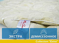 Одеяло MirSon полуторное пуховое Демисезон 140x205 пух 100% Екстра 039
