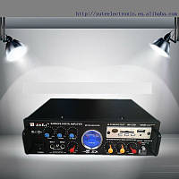 Усилитель мощности AMP 339 2-х канальный USB  MicroSD Пульт