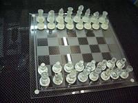 Шахматы стклянные Шахматы стекло Шахматы стклянные подарочные