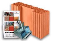 Керамический блок Wienerberger Porotherm 44 Ti K 1/2 Dryfix 440/125/249