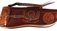 Комплект охотничий (чехол для ружья, сумка охотничья, патронташ )