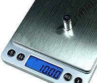 Ювелирные электронные весы с 2-мя чашами 0,01-500гр