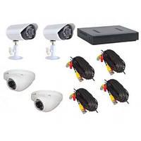 Регистратор видеонаблюдения DVR 7904 4 камеры  4-канальный регистратор
