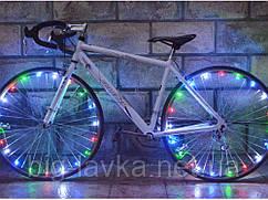 Светодиодная подсветка на спицы велосипеда  Мультицвет