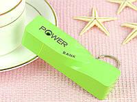 Внешнее зарядное устройство Power Bank  зеленый