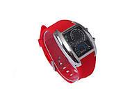 Часы со Спидометром Street Racer  красный