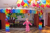 Праздничное оформление шарами в Алуште, Ялте и Симферополе.