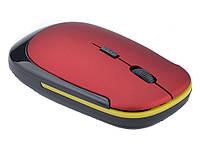 Мышка с желтой полоской Красная  красный