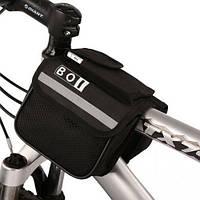 Нарамная сумка для велосипеда BOI, велосумка