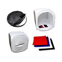 Лайткуб, бестеневая палатка софтбокс лайт-куб, 90см