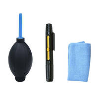 Набор для чистки оптики: груша, карандаш, фибра