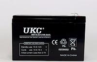 Аккумулятор BATTERY 12V 9A, аккумуляторная батарея UKC, гелевый аккумулятор 12v 9а, аккумулятор battery