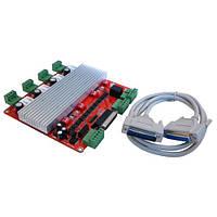 TB6560 4-осевой контроллер шаговых двигателей ЧПУ