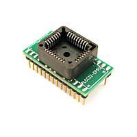 PLCC32 - DIP28 переходник, панелька для микросхем