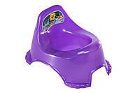 Горшок детский R_plastic фиолетовый