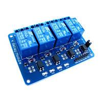 4-канальный модуль реле 5V для Arduino PIC ARM AVR