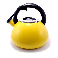 Чайник газовый Unknown1, чайник со свистком для газовой плиты, компактный металлический чайник