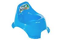 Горшок детский R_plastic синий