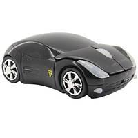 Беспроводная мышка машинка Porsche, черная