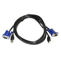 Кабель для KVM свича VGA + USB