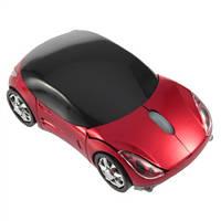 Беспроводная мышь Porsche, мышка машинка, красная