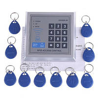 Панель контроля доступа по РЧИД + 10 ключей