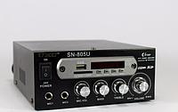 Усилитель AMP 805, усилитель мощности звука, мощный усилитель звука amp, усилитель мощности микшер караоке