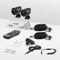 Система видеонаблюдения «установи сам» Страж Превент 2У+ (УЛ-420С-2)