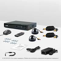 Система видеонаблюдения «установи сам» Страж Контрол 2К (КУ-420Ш-2)