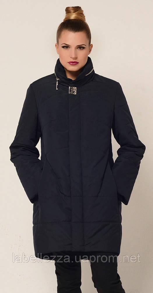 84f2cf5dc407 Женская осенняя куртка удлиненная черная 54 весна осень  продажа ...