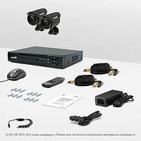 Система видеонаблюдения «установи сам» Страж Контрол 2У+ (УЛ-420С-2)