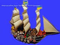 """Букет из конфет """"Корабль"""", фото 1"""