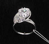 Кольцо серебро 925 проба 17.5 размер №329