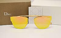 Женские солнцезащитные очки Dior 0204 s цвет оранжевый, фото 1