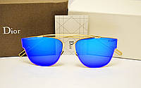 Женские солнцезащитные очки Dior 0204 s синяя линза