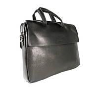 Сумка мужская для документов, портфель, папка Giorgio Armani 0886-2 черный, 39*30*7 см