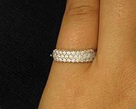 Кольцо серебро 925 проба 18 размер №1130