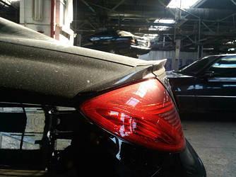 Спойлер сабля тюнинг Mercedes CL W216 стиль Brabus