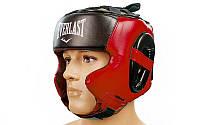 Шлем боксерский в мексиканском стиле FLEX EVERLAST BO-5341-R